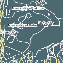 Zagreb map map of zagreb city zagreb gradska karta thecheapjerseys Choice Image
