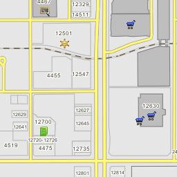 Hawthorne California Map.Hawthorne Plaza South Hawthorne California