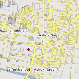 ashok nagar chennai map Ashok Nagar Chennai ashok nagar chennai map