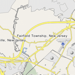 Caldwell New Jersey Map.West Caldwell New Jersey