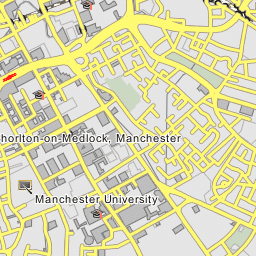 University Of Manchester Campus Map.Manchester University Manchester